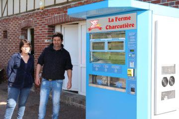 Eric Bellenguez distributeur automatique epegard le neubourg eure normandie